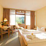 Doppelzimmer der Fachklinik Sankt Lukas in Bad Griesbach