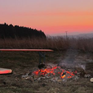 Lagerfeuer in Bad Griesbach