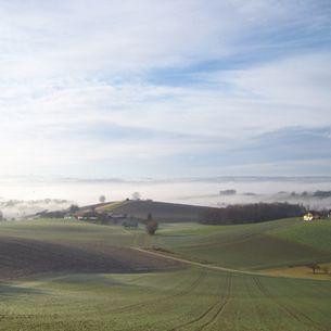 Umgebende Landschaft der Klinik in Bayern