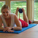 Sportraum mit Ball und Yoga Fachklinik Sankt Lukas