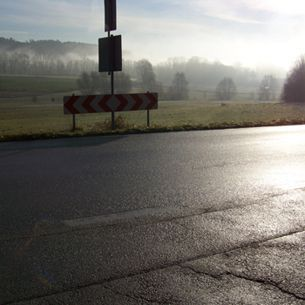 Strasse in Bad Griesbach