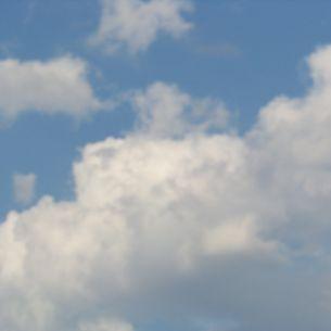 Wolkenhimmel über Bad Griesbach