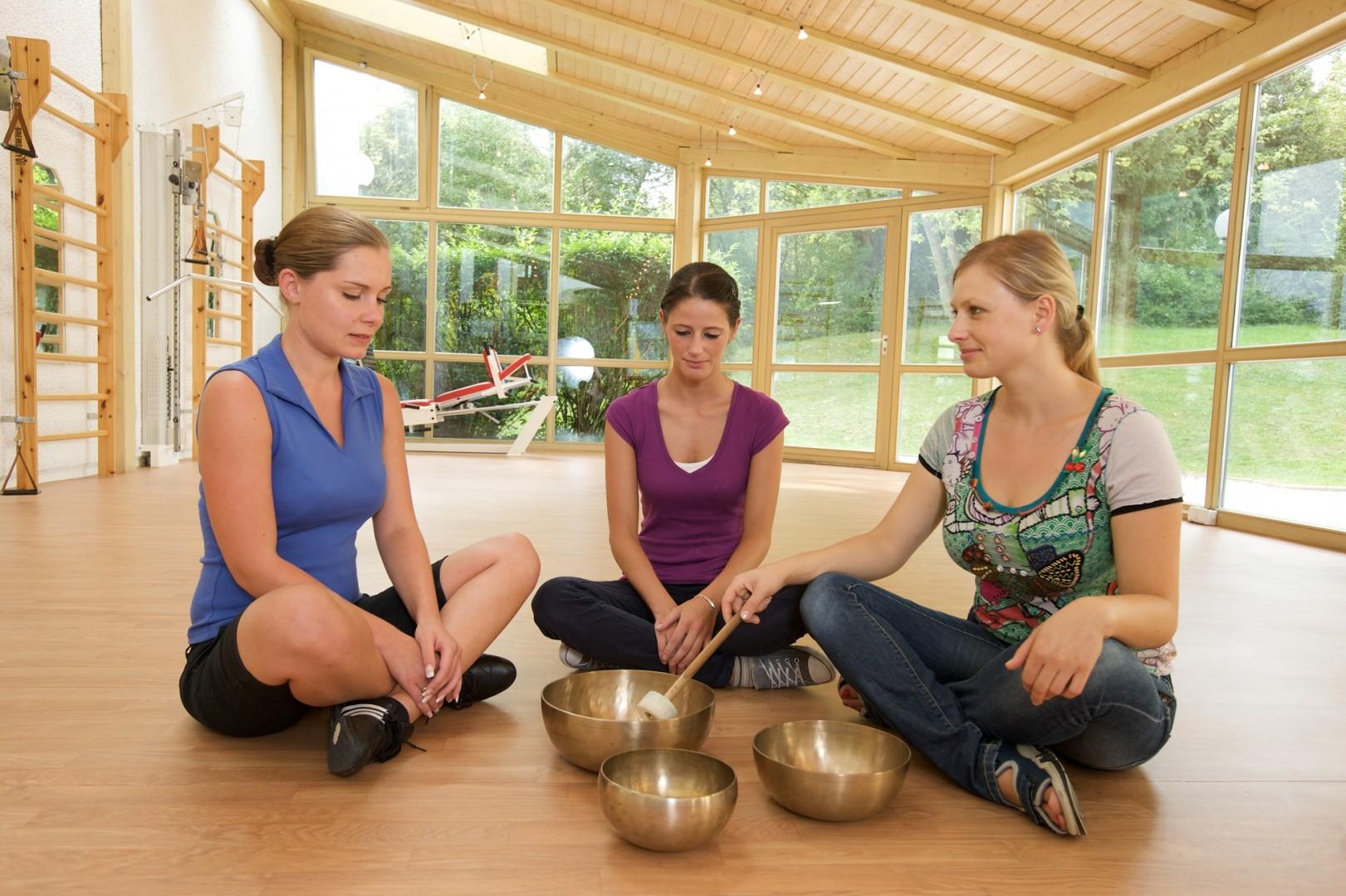 Meditationen und Entspannungstherapienin der Klinik