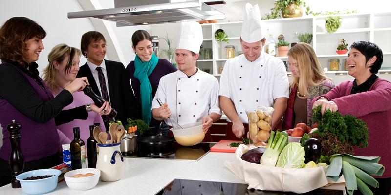 Kochschule in der Klinik
