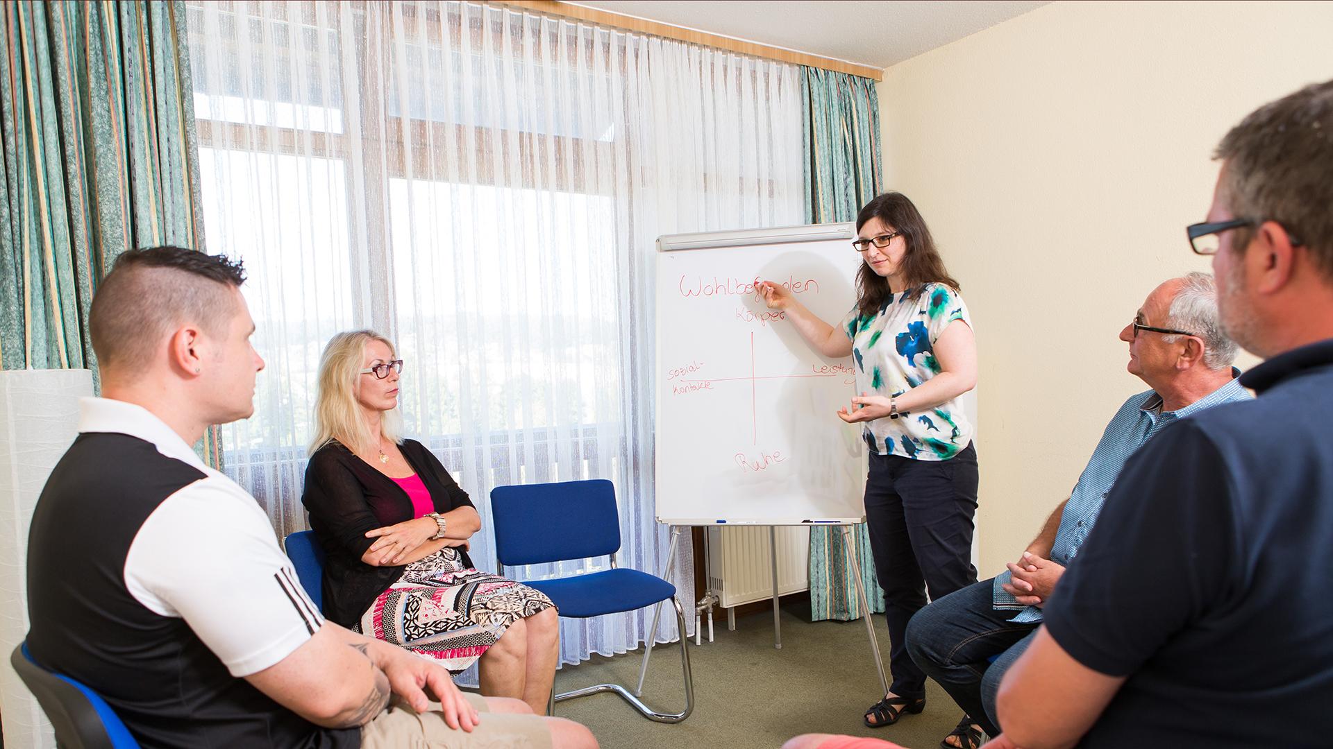 Gruppen Therapie in der privaten Psychiatrie
