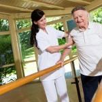 Unterstützung und Hilfe in der Orthopädie