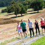 Nordic Walking Therapie in der Klinik