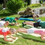 Training in der Sporttherapie in der Klinik