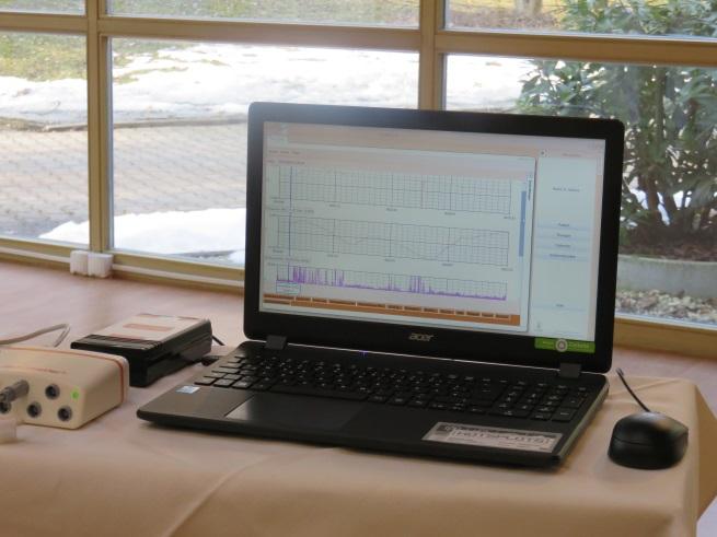 Biofeedback Sitzung in der Klinik