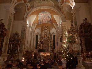 Christusmette in der Kirche